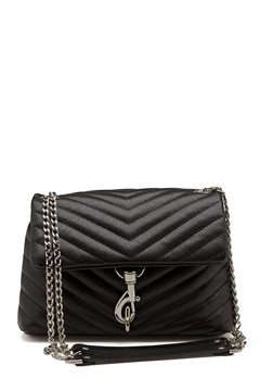 Rebecca Minkoff Edie Crossbody Pebble Bag Black Bubbleroom.dk