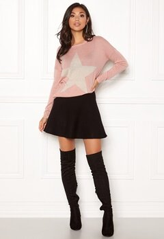 ONLY Reese L/S Pullover Knit Misty Rose Bubbleroom.dk