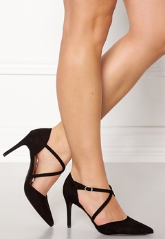 New Look Rexed Strap Point heel Black Bubbleroom.dk
