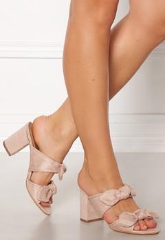 Truffle Rima Bow Sandals Nude Bubbleroom.dk