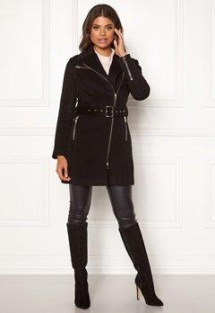 ROCKANDBLUE Eriana Wool Coat Black Bubbleroom.dk