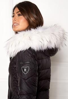 ROCKANDBLUE Faux Fur Trim Black/Bleached Bubbleroom.dk