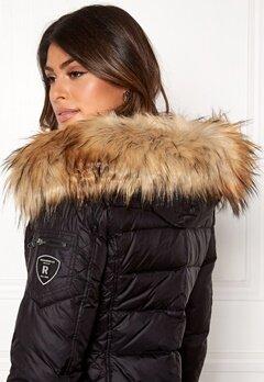 ROCKANDBLUE Faux Fur Trim Black/Natural Bubbleroom.dk