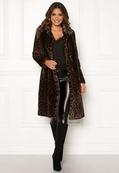 ROCKANDBLUE Penny Faux Fur Brownish/Leopard Bubbleroom.dk