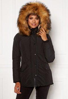 ROCKANDBLUE Polar Mid Jacket 89915 Black/Natural Bubbleroom.dk
