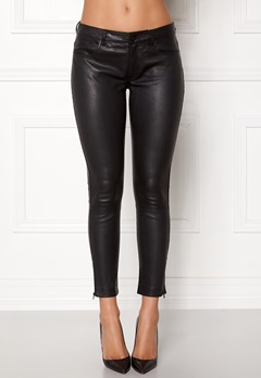 ROCKANDBLUE The Leather Pants Black Bubbleroom.dk
