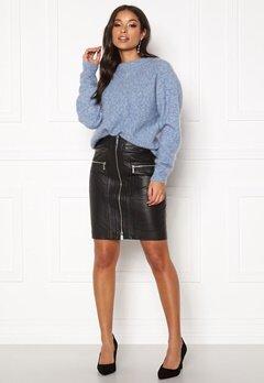 ROCKANDBLUE Willow Lamb Chill Skirt Black Bubbleroom.dk