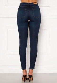 ONLY Royal Life HW Jeans Dark Blue Denim Bubbleroom.dk
