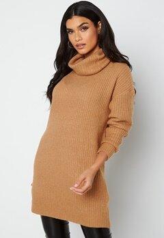 Rut & Circle Alexa Knit Dress 154 Camel bubbleroom.dk