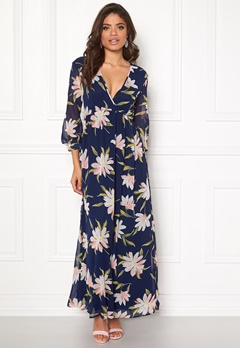 Rut & Circle Charlie Long Flower Dress Flower Bubbleroom.dk