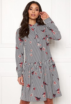 Rut & Circle Flower Stripe Dress Stripe Bubbleroom.dk