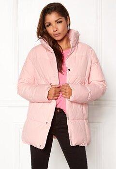 Rut & Circle Hilma Padded Jacket Lt Pink Bubbleroom.dk