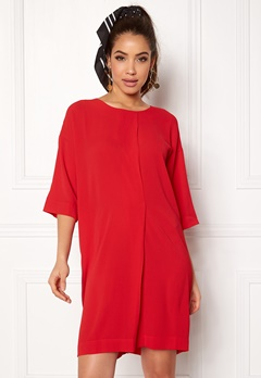 Rut & Circle Isabelle Dress Red Bubbleroom.dk