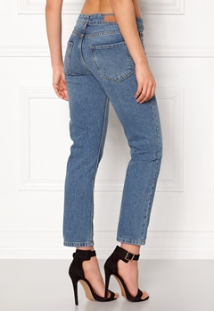 Rut & Circle Louisa Vintage Jeans Md Blue Wash Bubbleroom.dk