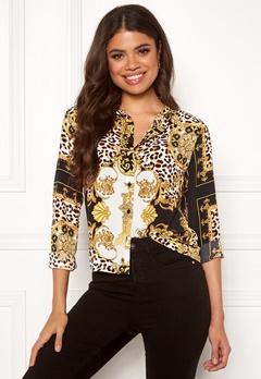 Rut & Circle Nicole Shirt Yellow Print Bubbleroom.dk