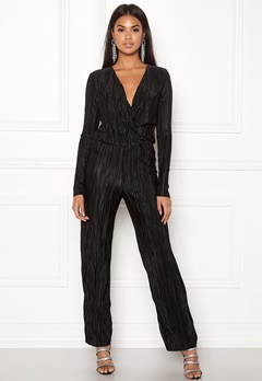 Rut & Circle Pleated Jumpsuit Black Bubbleroom.dk