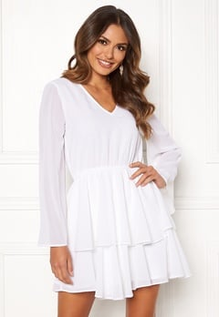 Rut & Circle Tuva Dress White Bubbleroom.dk