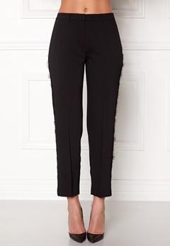 Samsøe & Samsøe Louisa Crop Pants Black Bubbleroom.dk