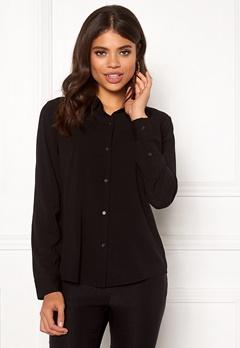 Samsøe & Samsøe Milly Shirt Black Bubbleroom.dk