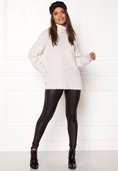 Samsøe & Samsøe Nor t-n Sweater White Mel. Bubbleroom.dk