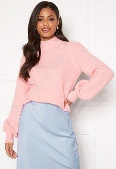 Sandra Willer X Bubbleroom Knitted sweater Light pink Bubbleroom.dk