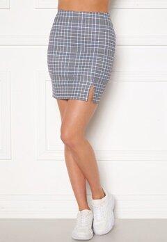 Sara Sieppi x Bubbleroom Mini Skirt Grey Bubbleroom.dk