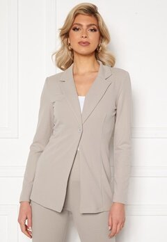 Sara Sieppi x Bubbleroom Soft Suit Jacket Grey Bubbleroom.dk
