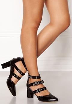 SARGOSSA Adore Heels Black With Gold Bubbleroom.dk