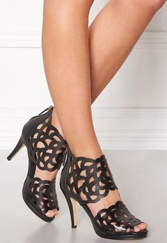 SARGOSSA Inspire Heels Black Nappa Bubbleroom.dk