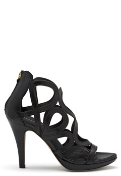 SARGOSSA Redefined New Suede Heels Black Bubbleroom.dk