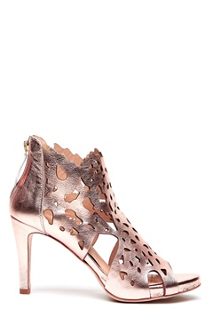 SARGOSSA Shades Nappa Leather Heels Rose Gold Bubbleroom.dk