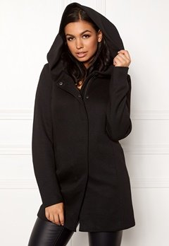 ONLY Sedona Light Coat Black Bubbleroom.dk