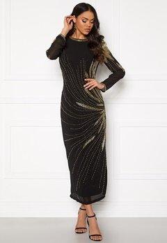 SELECTED FEMME Catalina LS Beaded Dress Black/Beading Bubbleroom.dk