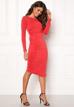 SELECTED FEMME Helen LS Dress True Red Bubbleroom.dk