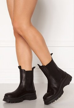SELECTED FEMME Lucy Leather Chelsea Boot Black Bubbleroom.dk