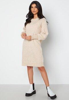 SELECTED FEMME Lulu LS Knit Dress Birch bubbleroom.dk
