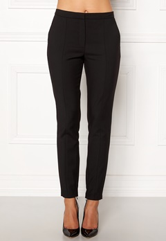SELECTED FEMME Muse Cropped MW Pant Black Bubbleroom.dk