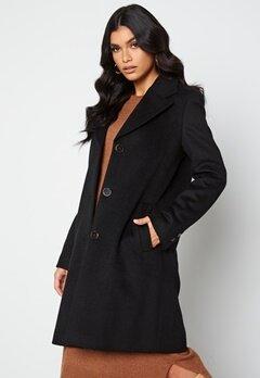 SELECTED FEMME New Sasja Wool Coat Black bubbleroom.dk