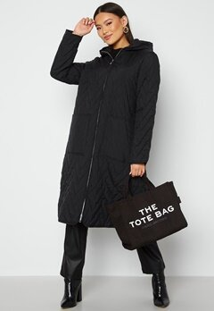 SELECTED FEMME Nora Quilted Coat Black bubbleroom.dk