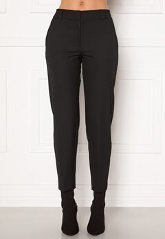 SELECTED FEMME Ria MW Cropped Pant Black Bubbleroom.dk