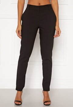 SELECTED FEMME Rita MW Slim Pants Black Bubbleroom.dk