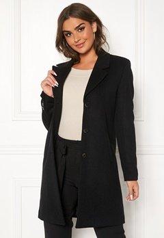 SELECTED FEMME Sasja Wool Coat Black Bubbleroom.dk
