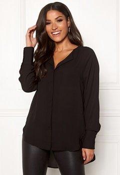 SELECTED FEMME Stina-Dynella LS Shirt Black Bubbleroom.dk