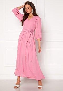 SELECTED FEMME Zix 3/4 Maxi Dress Rosebloom Bubbleroom.dk