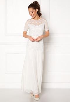 AngelEye Sequin Embellished Dress White Bubbleroom.dk
