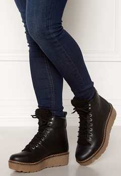 SHOE THE BEAR Bex leather Boots 110 Black Bubbleroom.dk