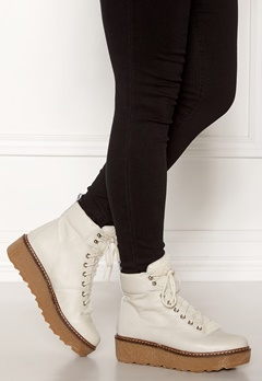 SHOE THE BEAR Bex leather Boots 120 White Bubbleroom.dk