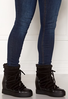 SHOE THE BEAR Trish Wool Boots 111 Black Bubbleroom.dk