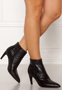 SHOE THE BEAR Vanessa Croco Shoes 110 Black Bubbleroom.dk