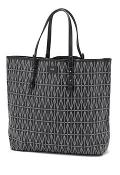 DAGMAR Shopping Bag 999 Black Bubbleroom.dk